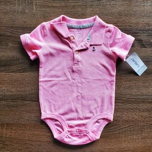 Carters 12 Month Polo Onesie